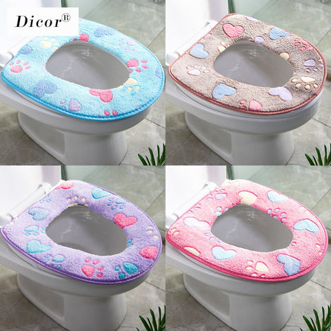 Universal Washable Toilet Cover - household-ideals