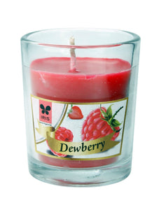 Scented Votive Candle - Dewberry