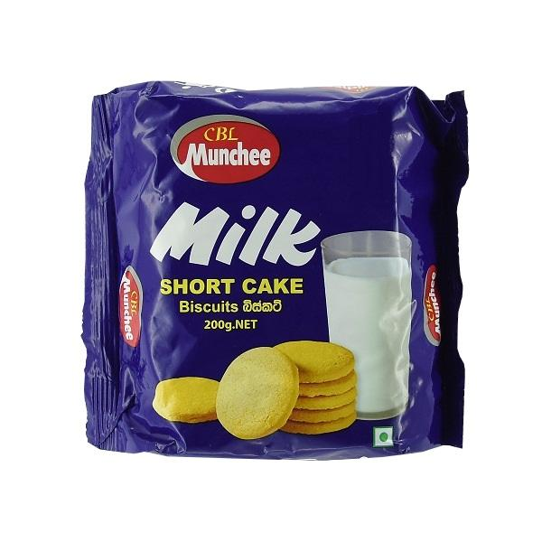 Munchee Milk Short Cake Biscuits 200g