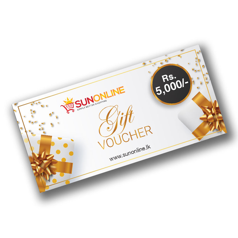 Gift Voucher Rs. 5,000/=