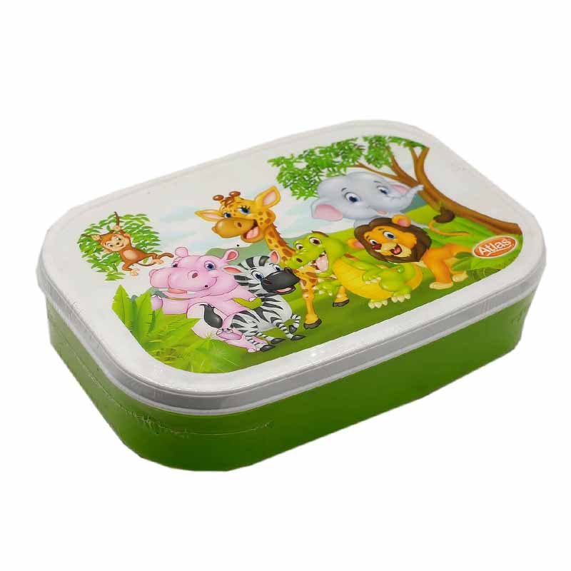 Atlas Fitpac Lunch Box - Green