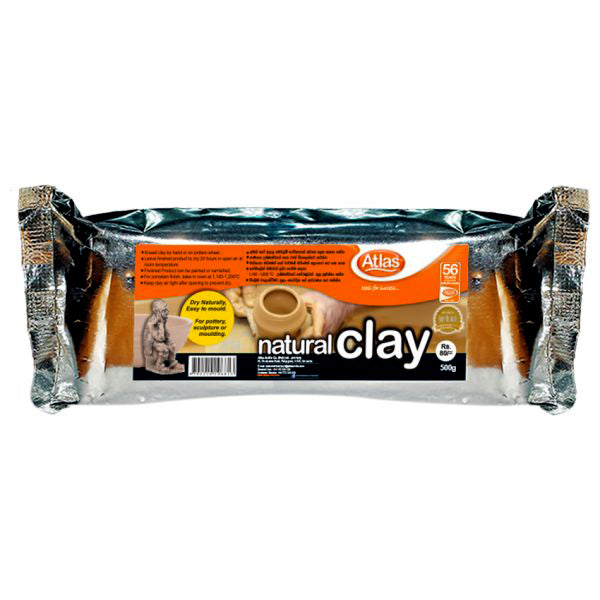 Atlas Natural Clay 250g