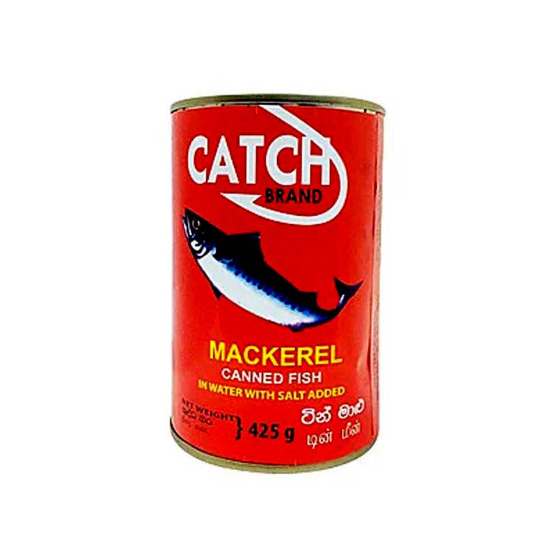 Catch Mackerel Canned Fish 425g