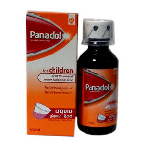 Panadol Syrup 100ml (Fruit Flavoured Sugar & Alcohol Free)