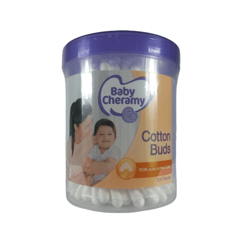 Baby Cheramy Cotton Buds (100 Pcs)