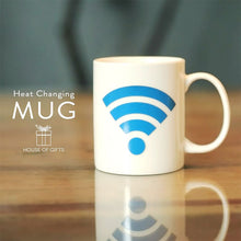 Load image into Gallery viewer, Ceramic Heat Mug - Wifi