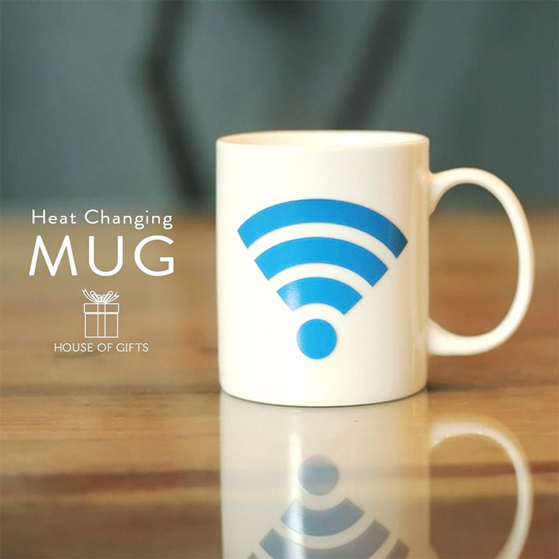 Ceramic Heat Mug - Wifi