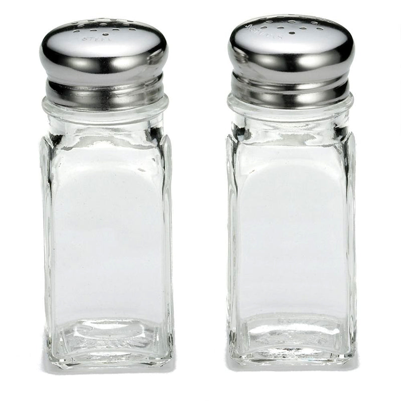 Salt and Pepper Shakers Square Design