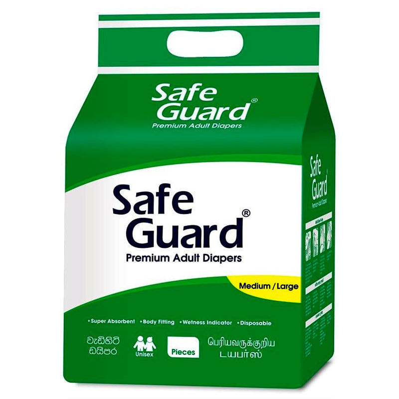 Safe Guard Adult Diapers (10Pcs)