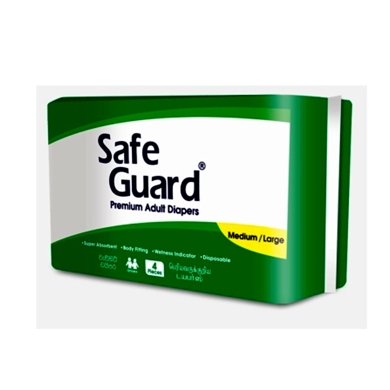 Safe Guard Adult Diapers (4pcs)