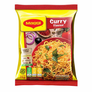 Maggi Curry Flavour Instant Noodles 73g