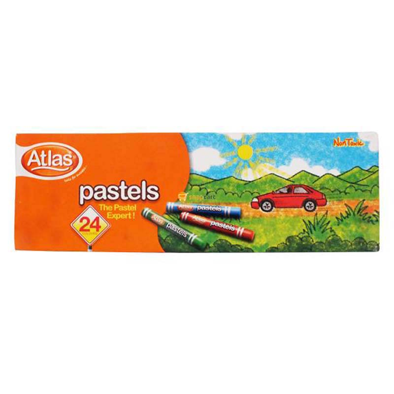Atlas Pastel 24 Colours