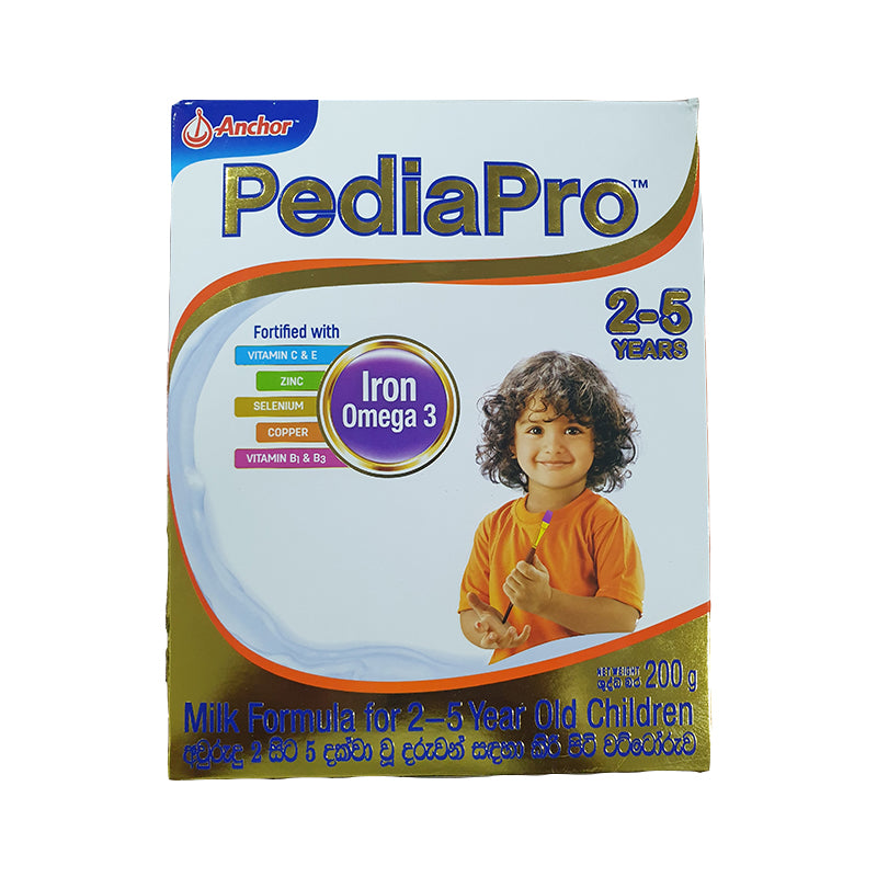 Anchor PediaPro Milk Powder for 2-5 Year Old Children 200g