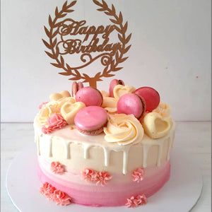 Birthday Cake with Topper 1kg