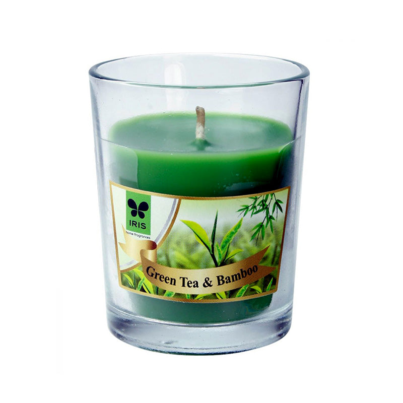 Scented Votive Candle -Green Tea