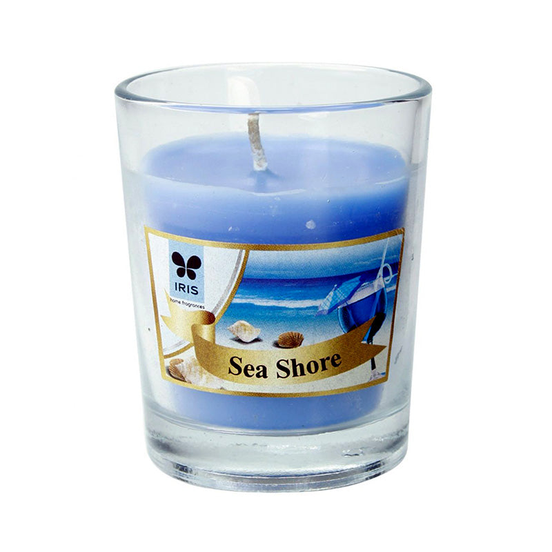 Scented Votive Candle - Sea Shore