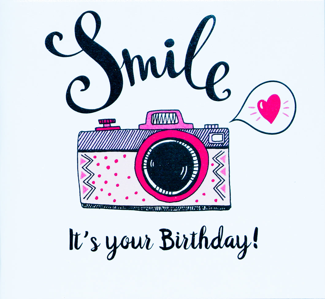 Gift Card Small - Smile It's Your Birthday