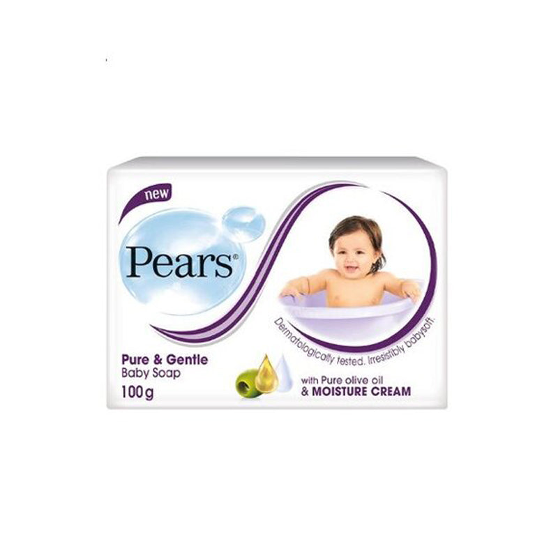 Pears Pure & Gentle Baby Soap 100g