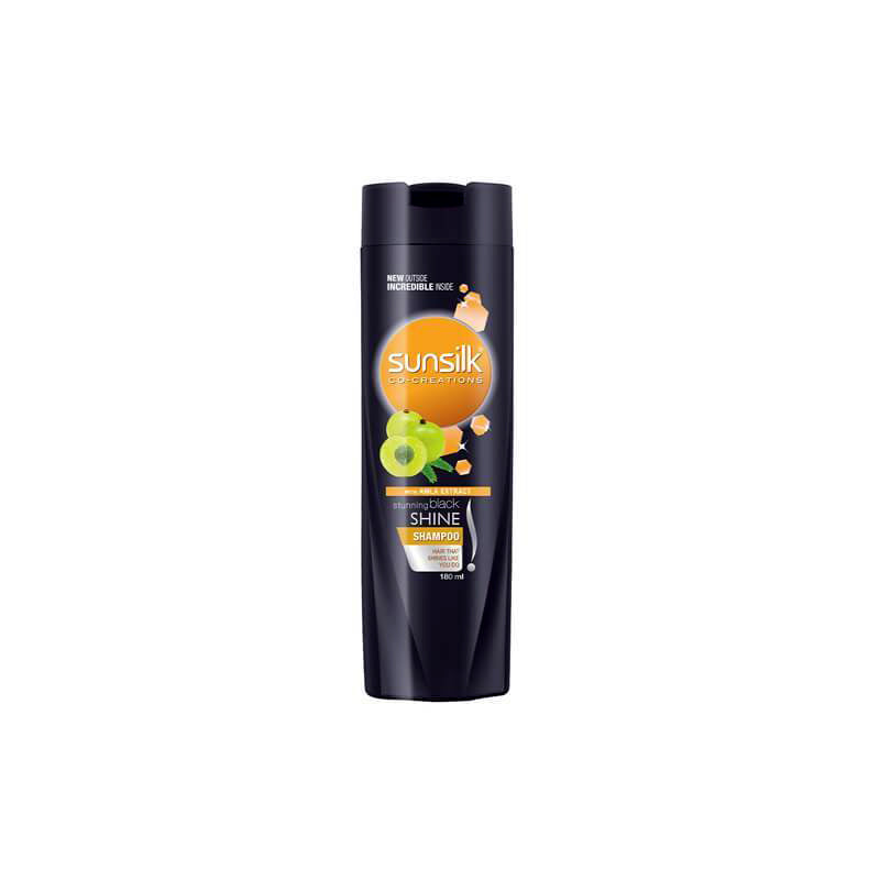 Sunsilk Stunning Black Shine Shampoo 180ml