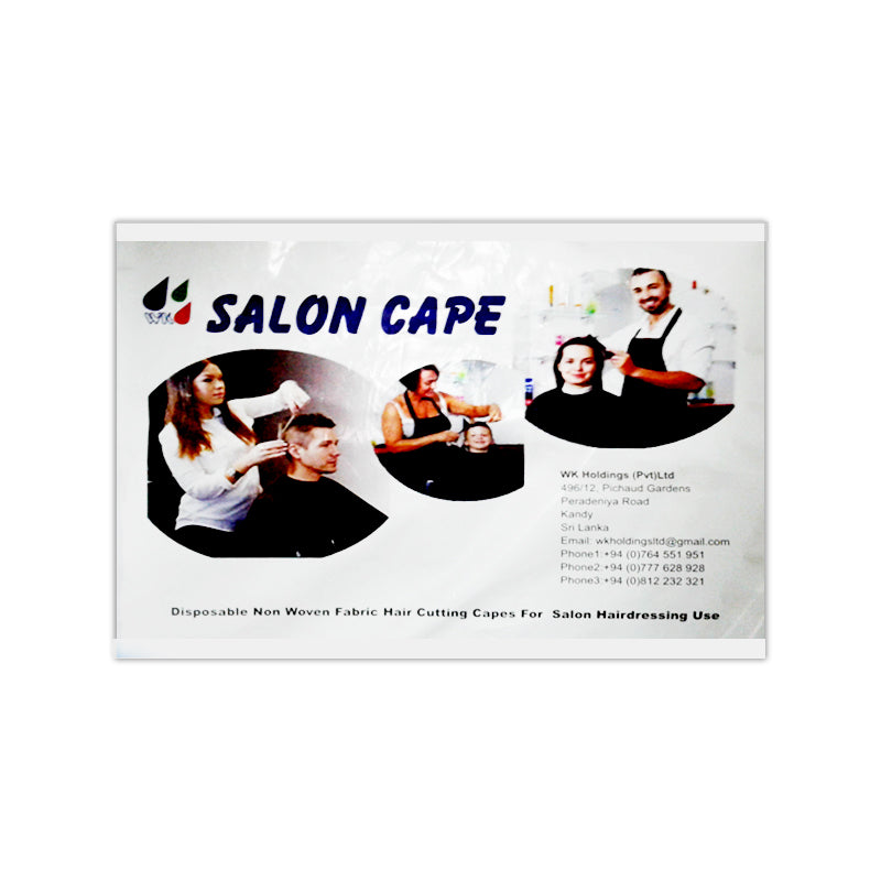 Salon Cape (White Colour)