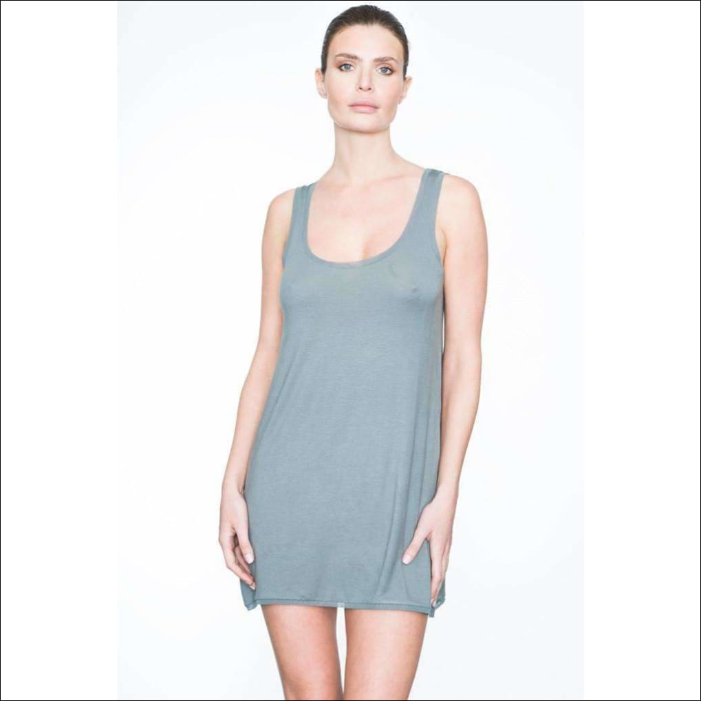 Addiction Douceur Babydoll - Grey / Xs - One Piece Lingerie Theory Lingerietheory.com