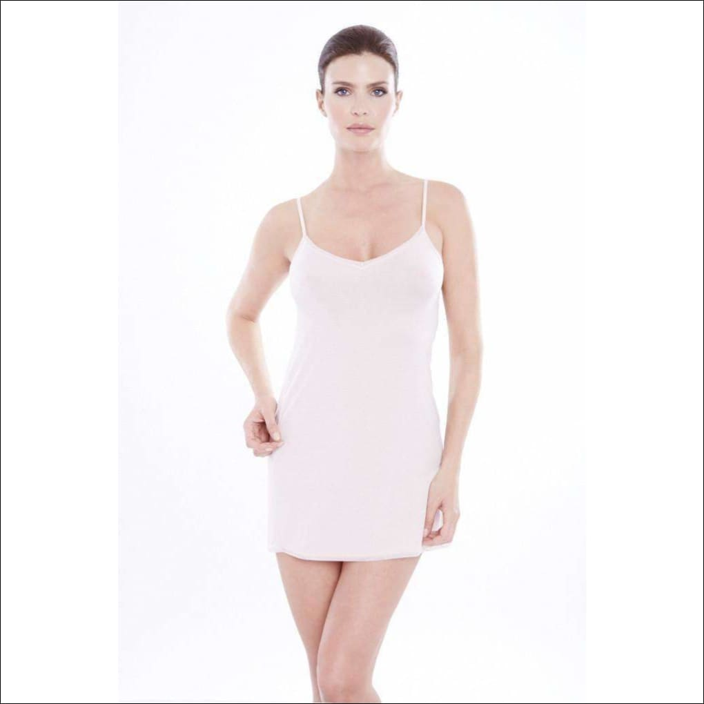 Addiction Douceur Camisole Dress - Blush / Xs - One Piece Lingerie Theory Lingerietheory.com