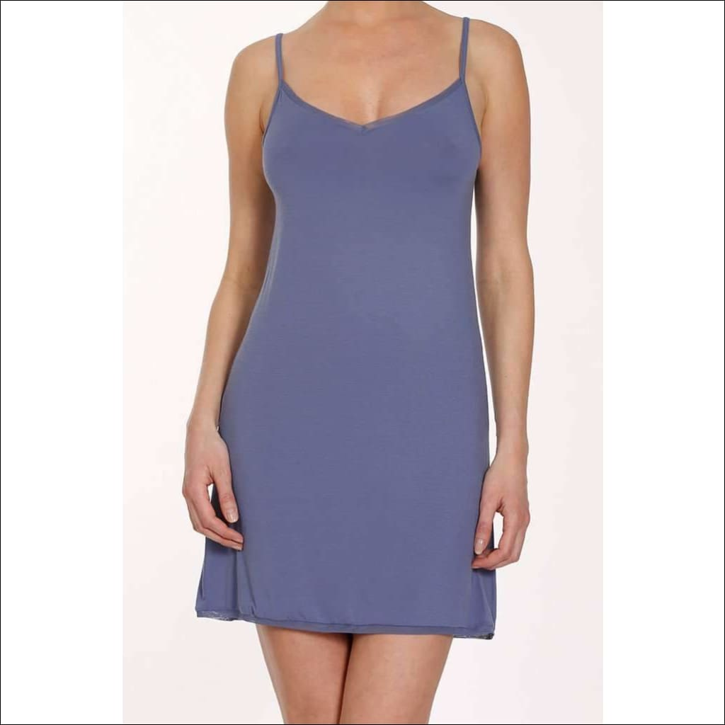 Addiction Douceur Camisole Dress - Periwinkle / S - One Piece Lingerie Theory Lingerietheory.com