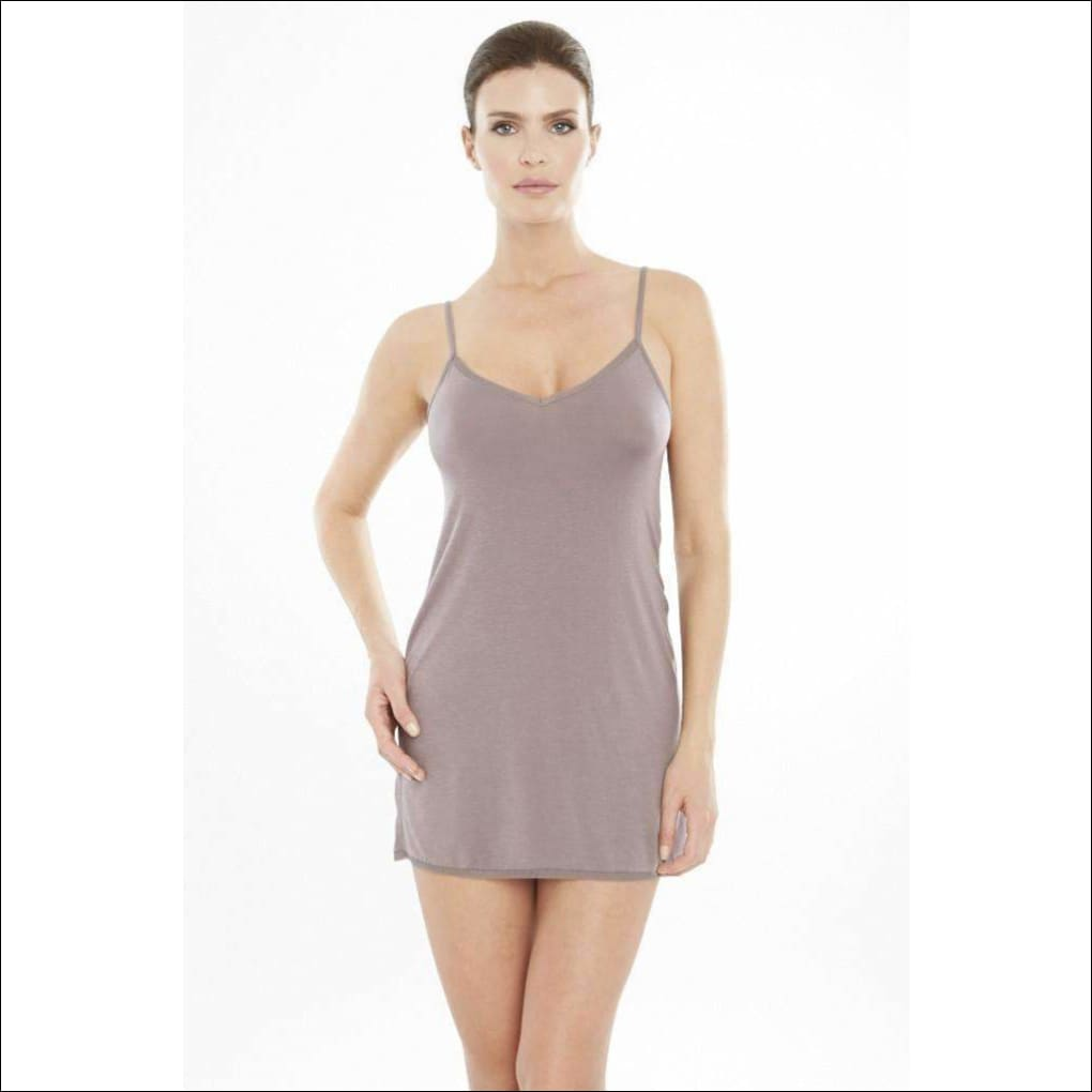 Addiction Douceur Camisole Dress - Taupe / Xs - One Piece Lingerie Theory Lingerietheory.com