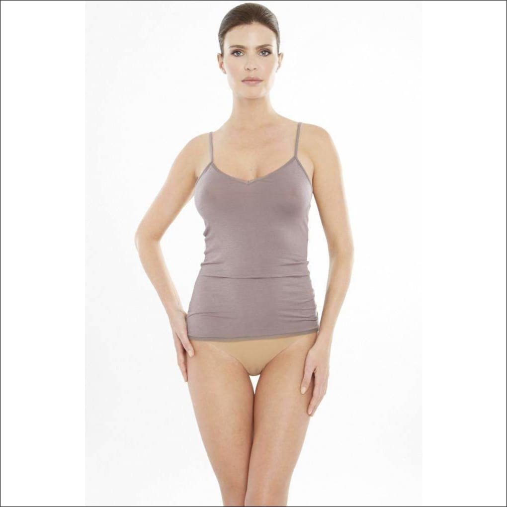Addiction Douceur Camisole - Taupe / Xs - Top Lingerie Theory Lingerietheory.com
