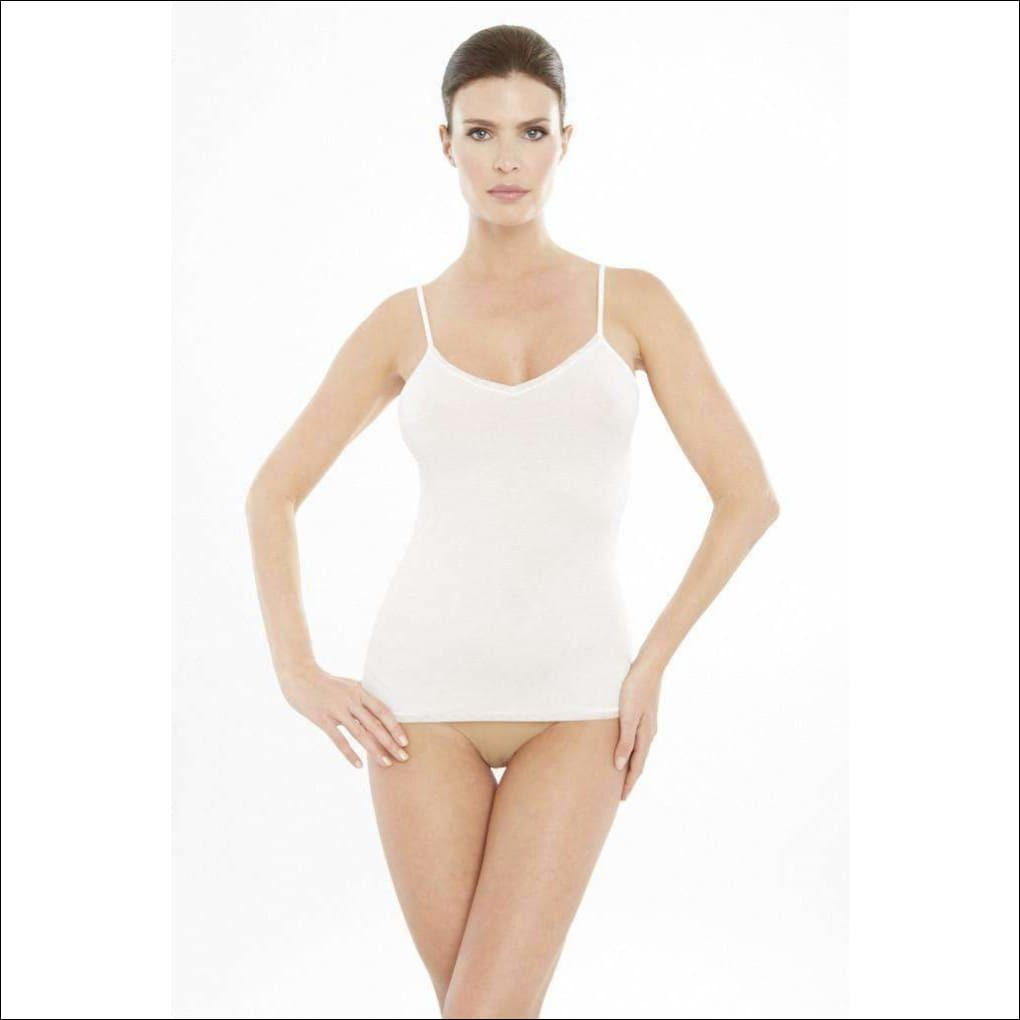 Addiction Douceur Camisole - White / Xs - Top Lingerie Theory Lingerietheory.com