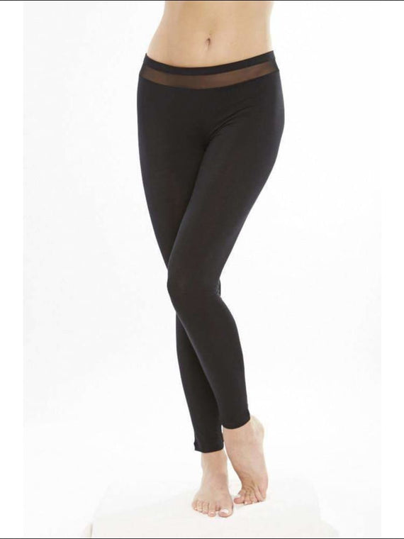 Addiction Douceur Leggings For Women - Black / Xs - Bottom Lingerie Theory Lingerietheory.com