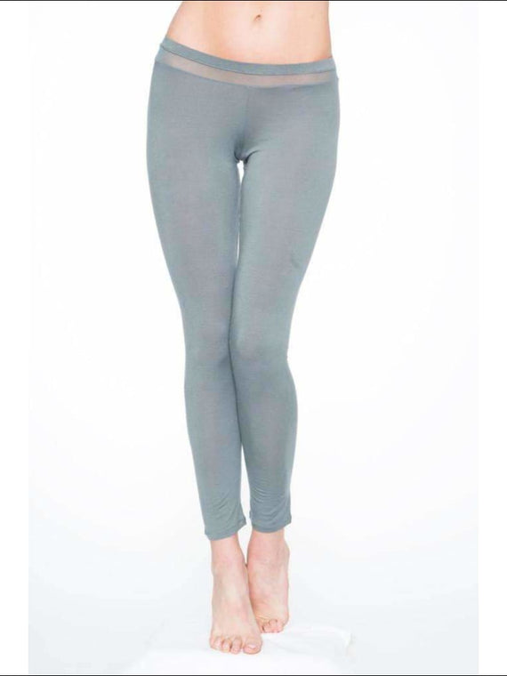 Addiction Douceur Leggings For Women - Grey / Xs - Bottom Lingerie Theory Lingerietheory.com