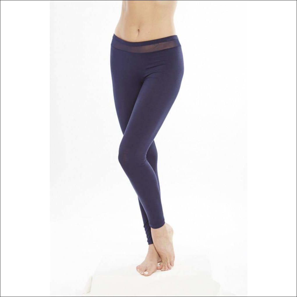 Addiction Douceur Leggings For Women - Navy / Xs - Bottom Lingerie Theory Lingerietheory.com
