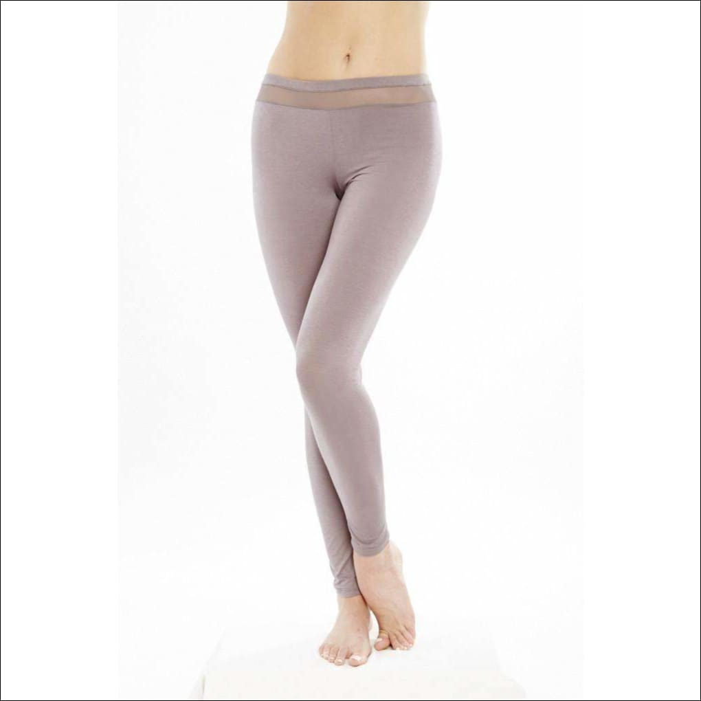 Addiction Douceur Leggings For Women - Taupe / Xs - Bottom Lingerie Theory Lingerietheory.com