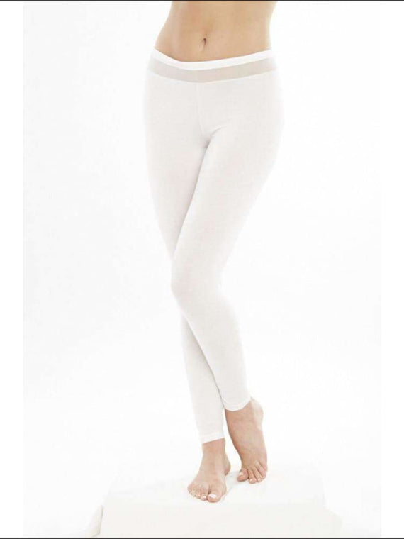 Addiction Douceur Leggings For Women - White / Xs - Bottom Lingerie Theory Lingerietheory.com