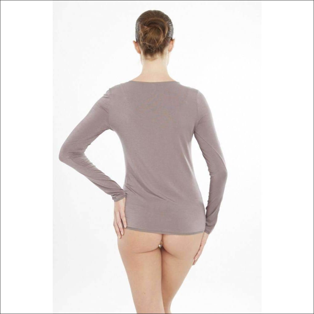 Addiction Douceur Long Sleeve Top - Top Lingerie Theory Lingerietheory.com
