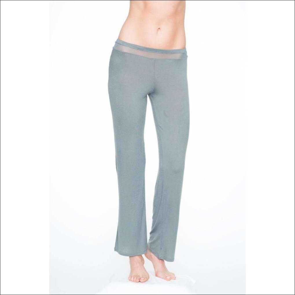 Addiction Douceur Pants - Grey / Xs - Bottom Lingerie Theory Lingerietheory.com