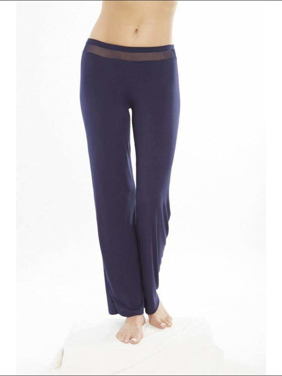 Addiction Douceur Pants - Navy / Xs - Bottom Lingerie Theory Lingerietheory.com