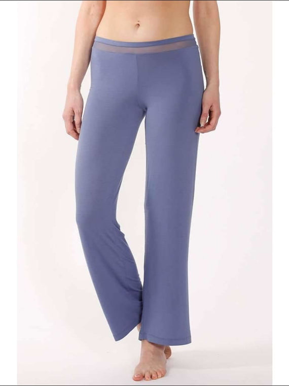 Addiction Douceur Pants - Periwinkle / S - Bottom Lingerie Theory Lingerietheory.com