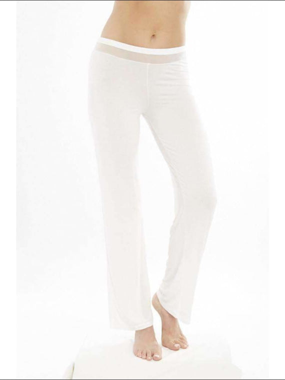 Addiction Douceur Pants - White / Xs - Bottom Lingerie Theory Lingerietheory.com
