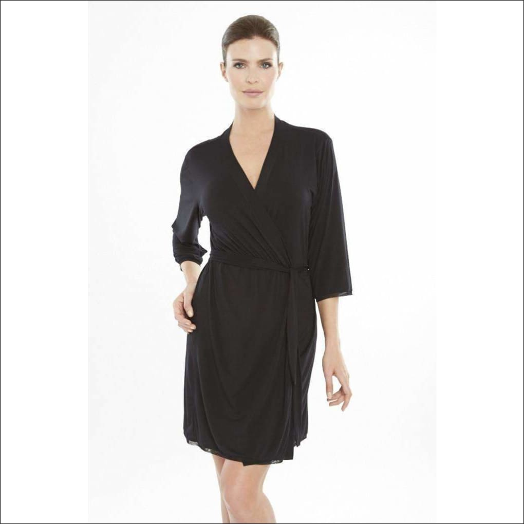Addiction Douceur Robe - Black / Xs - Robe Lingerie Theory Lingerietheory.com