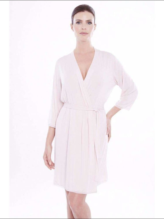 Addiction Douceur Robe - Blush / Xs - Robe Lingerie Theory Lingerietheory.com