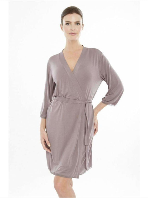 Addiction Douceur Robe - Taupe / Xs - Robe Lingerie Theory Lingerietheory.com