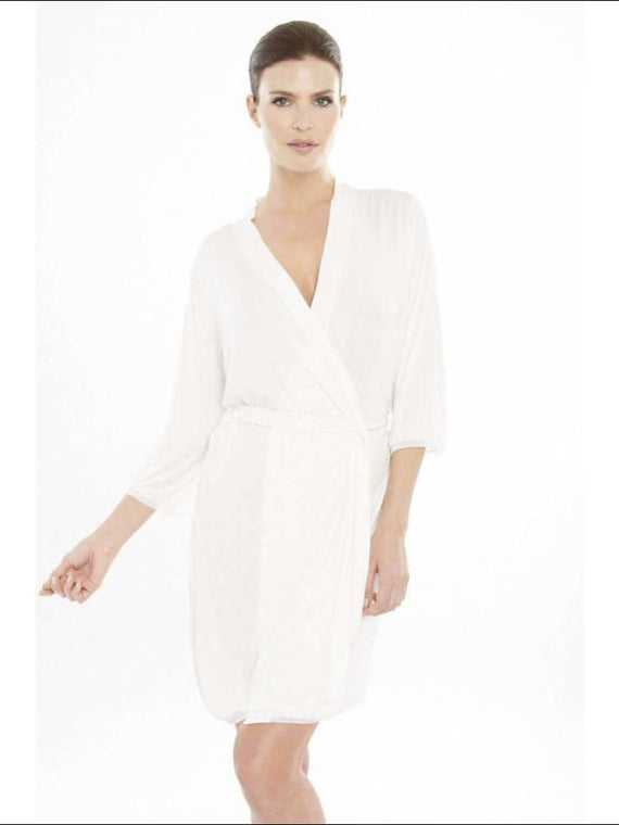 Addiction Douceur Robe - White / Xs - Robe Lingerie Theory Lingerietheory.com