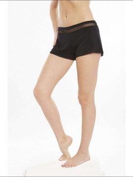 Addiction Douceur Shorts - Black / Xs - Bottom Lingerie Theory Lingerietheory.com