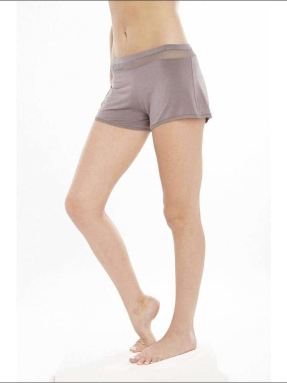 Addiction Douceur Shorts - Taupe / Xs - Bottom Lingerie Theory Lingerietheory.com