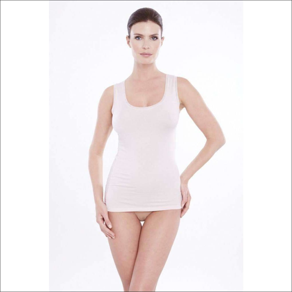 Addiction Douceur Tank Top - Blush / Xs - Top Lingerie Theory Lingerietheory.com