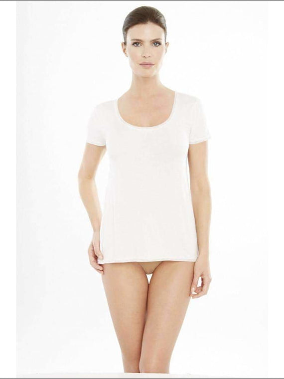 Addiction Douceur Tee Shirt - White / Xs - Top Lingerie Theory Lingerietheory.com