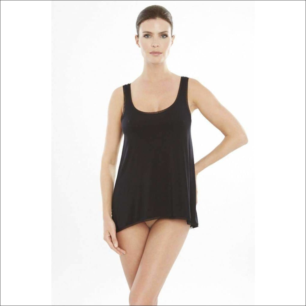 Addiction Douceur Trapeze Top - Black / Xs - Top Lingerie Theory Lingerietheory.com