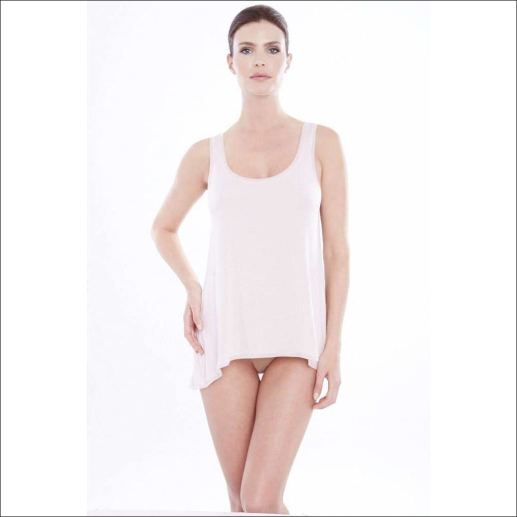 Addiction Douceur Trapeze Top - Blush / Xs - Top Lingerie Theory Lingerietheory.com